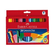 Faber-Castell Connector Felt Pens 20 Pack