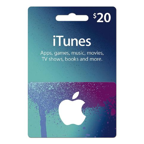 Apple iTunes Splash $20
