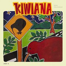 BrownTrout Calendar 2019 Kiwiana Square