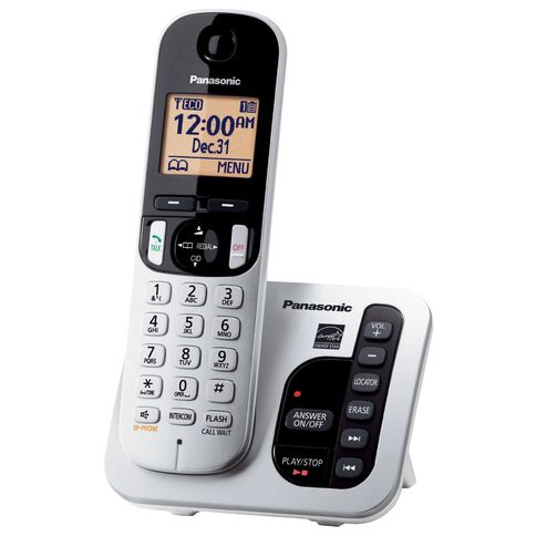 Panasonic Kx-Tgc220Nzs Silver