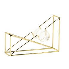 Uniti Empowerment Gold Tape Dispenser With Washi Tape Gold