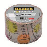 Scotch Washi Craft Tape 30mm x 10m Travel