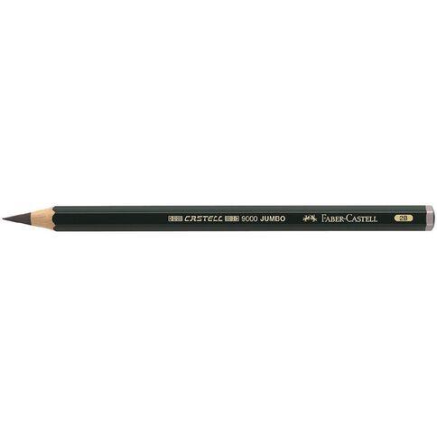 Faber-Castell Artist Grade 9000 Jumbo Pencil 2B Grey