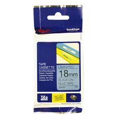 Brother TZE-541 Label Tape Black On Blue 8m x 18mm