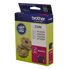 Brother Ink LC233 Magenta (550 Pages)