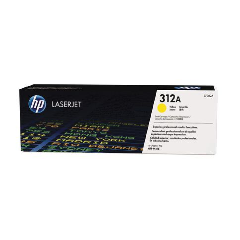 HP 312A Yellow Contract LaserJet Toner Cartridge (2700 Pages)