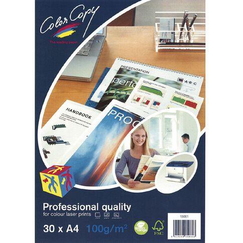 Color Copy Digital Laser 100gsm 30 Pack