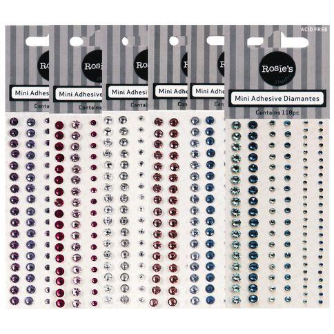 Rosies Mini Diamantes 116 Piece