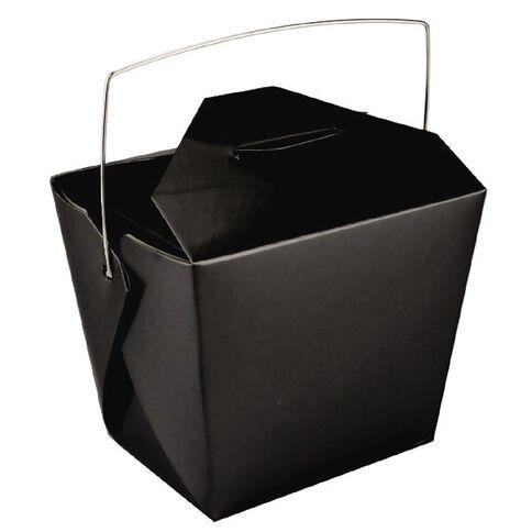Artwrap Noodle Boxes 4 Pack Black
