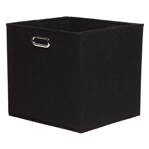 Workspace Storage Box Folding 9 & 12 Cube Black