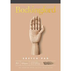 Bockingford Sketch Pad B21 120gsm 60 Leaf A5 Yellow A5