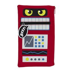 Pencil Case Robot Monster Pouch Multi-Coloured
