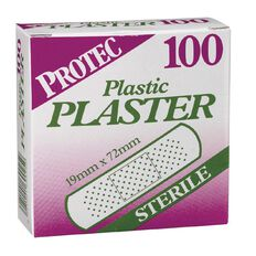 Protec Plaster 100 Pack