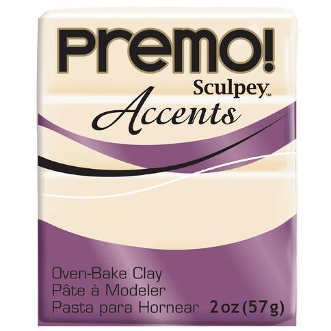 Sculpey Premo Accent Clay 57g Translucent
