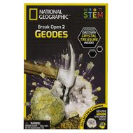 National Geographic Break Open Two Geodes