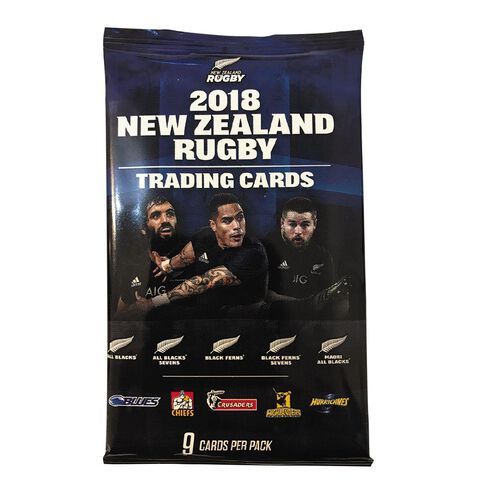 New Zealand Rugby Trading Cards Single Pack Assorted