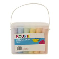 Kookie Jumbo Sidewalk Chalk 24 Pack