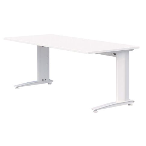 Accent Quick Ship Fixed Height Desk White/Snow 1500 x 800