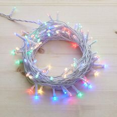 Plug-in String Lights Multi-Coloured 200 LED