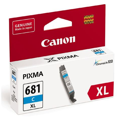 Canon CLI-681XL Ink Cyan (500 Pages)