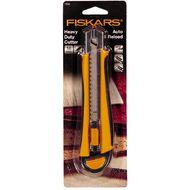 Fiskars Cutting Knife Auto Reload 18mm Silver