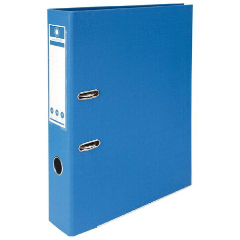 Office Supply Co Lever Arch Blue Foolscap