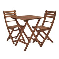 Living & Co Easy Fold  Wooden Bistro Table