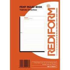 Rediform Manifold Book Feint Triplicate 50 Sets Red