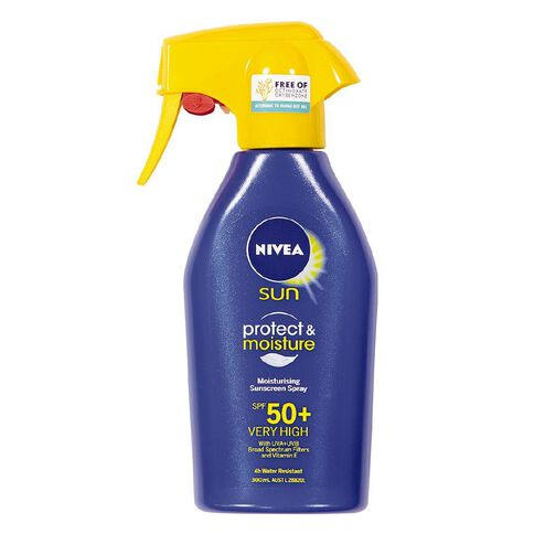 Nivea Sun Protect & Moisture Sunscreen Spray Trigger SPF50+