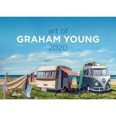 Calendar 2020 Art of Graham Young Booklet