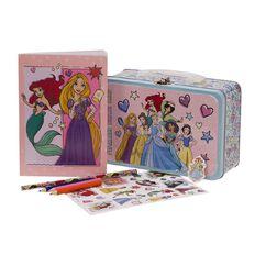 Disney Princess Art Activity Tin Set