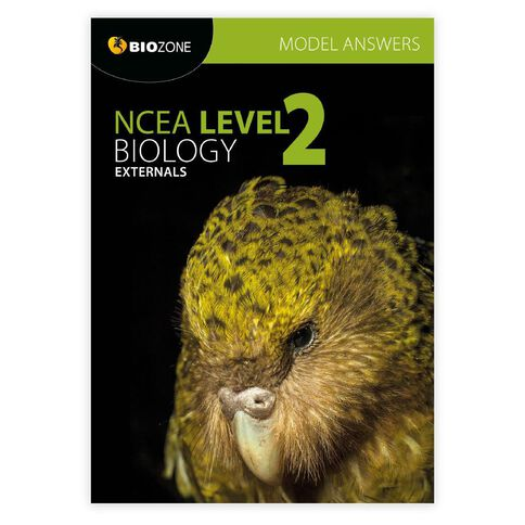 Ncea Year 13 Biology Externals Ans