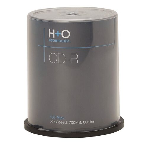 H+O Cd-R 52X 700 Mb 100-Pack