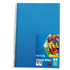 Reeves Visual Diary A4 Blue Blue A4