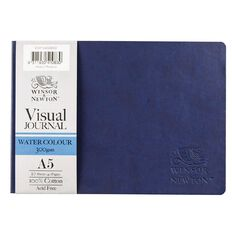 Winsor & Newton Watercolour Visual Journal Soft 300gsm A5 20 Sheets Blue