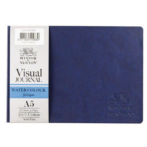 Winsor & Newton Watercolour Visual Journal Soft 300gsm A5 20 Sheets Blue
