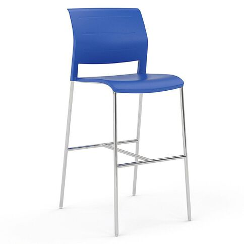 Game Barstool Indigo Blue
