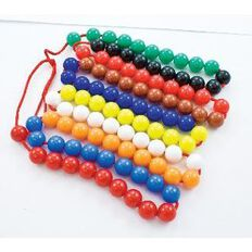 TFC 100 String Beads Multi-Coloured