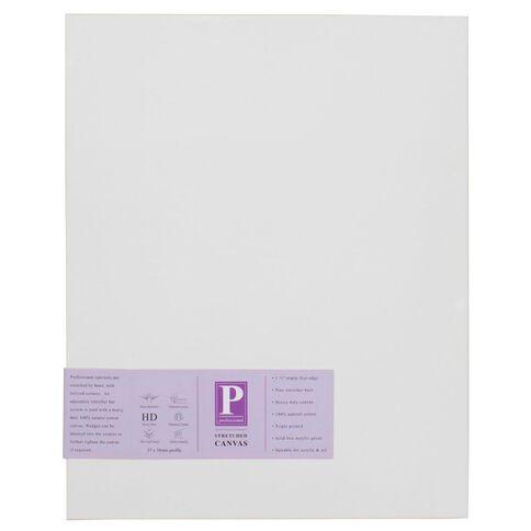 DAS Professional HD Canvas 12 x 36 White
