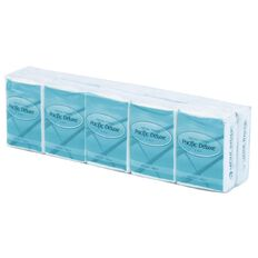 Pacific Hygiene Pacific Deluxe Pocket Tissues 10 Pack
