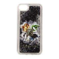 Harry Potter Hogwarts Crest iPhone 6/7/8 Glitter Case