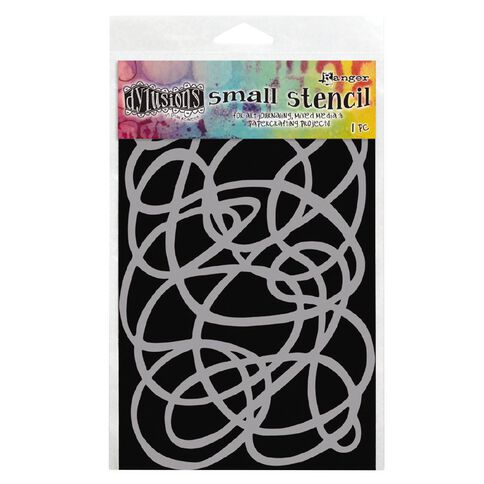 Ranger Dylusions Stencil Squiggle Small