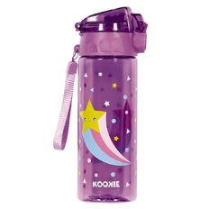 Kookie Star Drink Bottle Purple