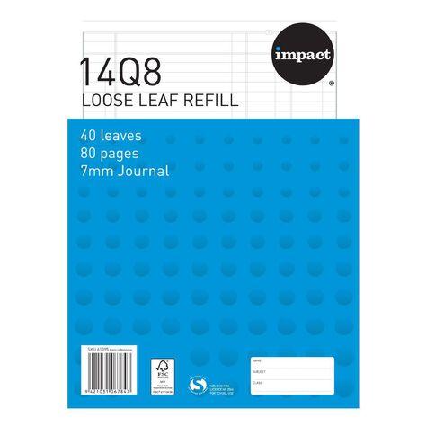 Impact Pad Refill 14Q8 Journal Ruled 40 Leaf