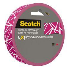 Scotch Masking Craft Tape Cracked Pink 25mm x 18m