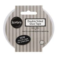 Rosie's Studio Double Sided Glue Tape 6mm x 16m Clear