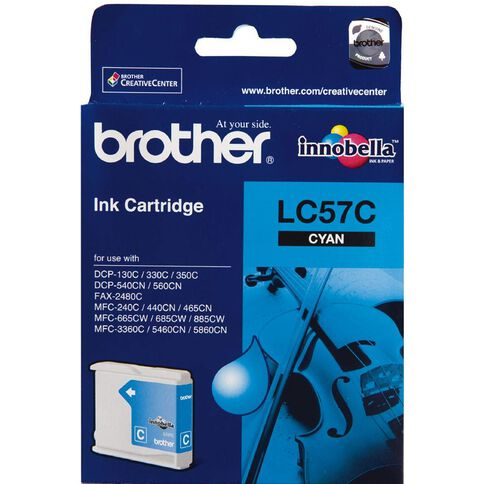 Brother Ink LC57 Cyan (400 Pages)