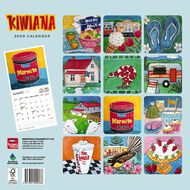 BrownTrout 2020 Square Wall Calendar Kiwiana