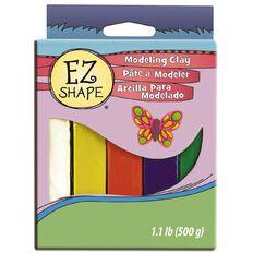 Sculpey EZ Shape Modeling Clay Set 5 Primary Colour