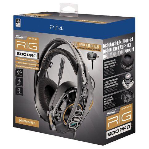 Plantronics Headset RIG500HS PRO PS4 Black